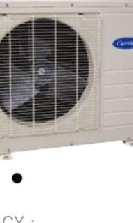 Set Carrier Ductlesst Compressor and Aircon