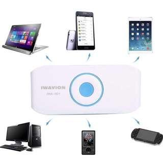 Wireless Speaker ! Bring It With You Everywhere You Go !!