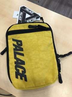 Palace Skateboard Shoulder Bag Yellow ( HK AAA )