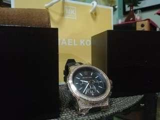 Mk watch on hand big sized