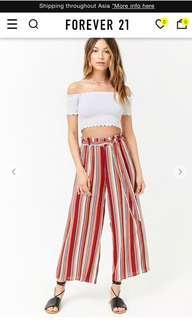 Forever21 stripe pant