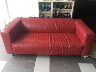 IKEA Klippan Leather