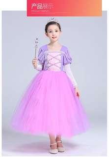 Rapunzel Fairy Tale Princess Gown/Princess Dress/Costume/Cosplay Dress