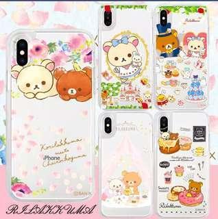 🚚 Rilakkuma Phone Case IPhone Samsung Huawei Oppo