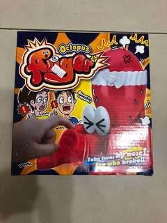 🚚 整蠱玩具憤怒的八爪章魚氣球桌面遊戲親子互動新奇玩具