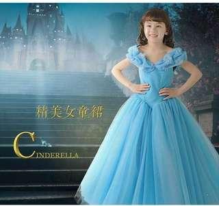 Cinderella Princess Dress Gown/Princess Dress/Costume/Cosplay Dress