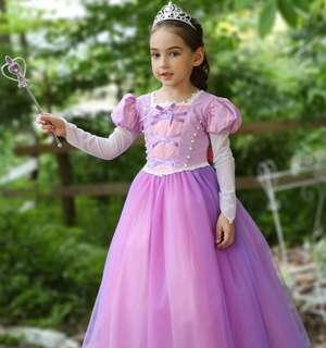 Rapunzel Princess Gown/Princess Dress/Costume/Cosplay Dress