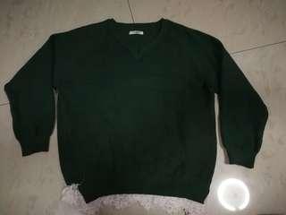 Dark Green knit