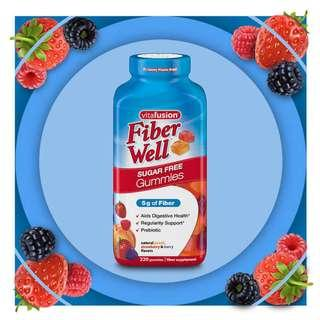 Fiber Well Sugar Free Gummies