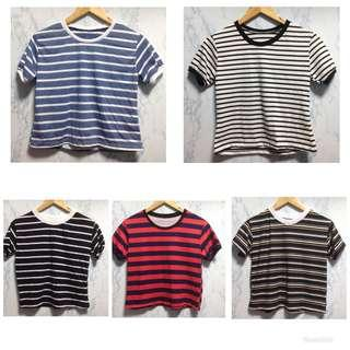 Assorted Stripes Tee for Women
