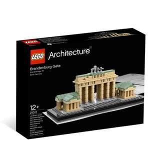 MISB Lego 21011 Brandenburg gate architecture