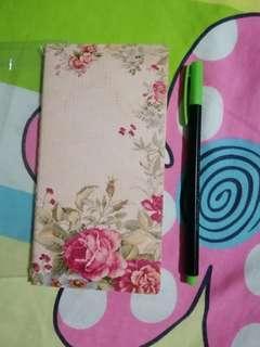 Notebook brown paper