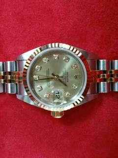 勞力士男女鑽石錶