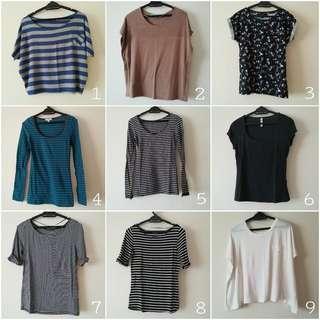 PROMO: tees / t shirts