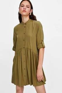 Green Oversize Dress