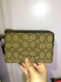 RUSH SALE coach wristlet wallet