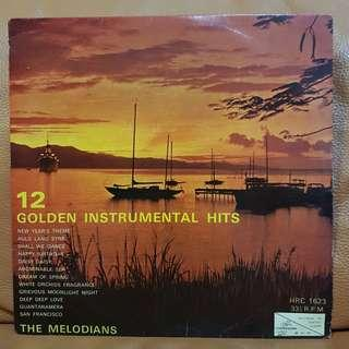 The Melodians  - 12 Golden Instrumental Hits  Vinyl Records