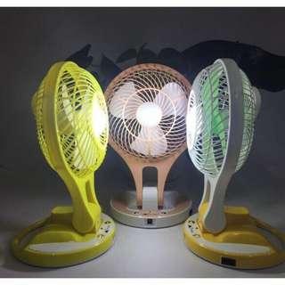 Led rechargeable fan (DM)