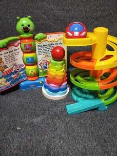 Bundle of toys at 3 for $10