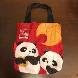 奇華 熊貓🐼環保袋 購物袋 可摺疊 Foldable Shopping bag / Eco bag