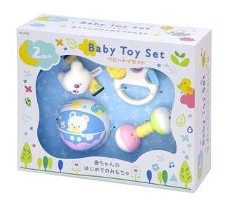 日本直送🇯🇵嬰兒玩具Gift Set(🚼2個月以上適用)