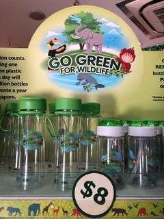 Go green waterbottle