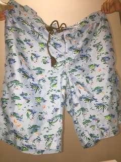Light Blue Short Pants
