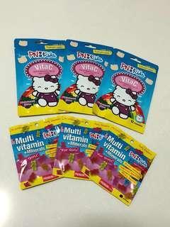Hello Kitty PN kids vitamins