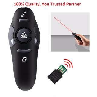 2.4 GHz Wireless Remote Red Laser Pointer