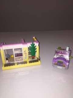 Lego House & Car