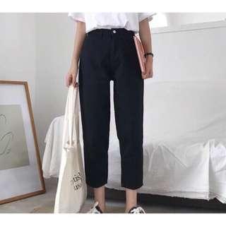 🚚 全新韓版黑色長褲