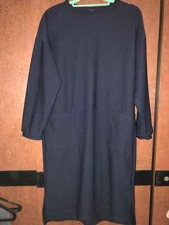 Magnolia navy dress