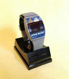 1977年 Star Wars LED 手錶