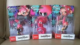 Splatoon 2 Octoling Amiibo