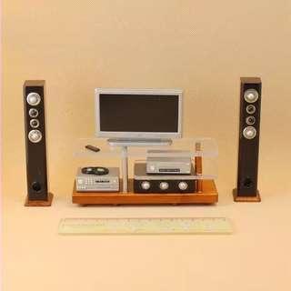 Miniature Hifi TV set