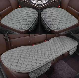 Seat cover set for car