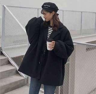 🚚 全新黑色大衣