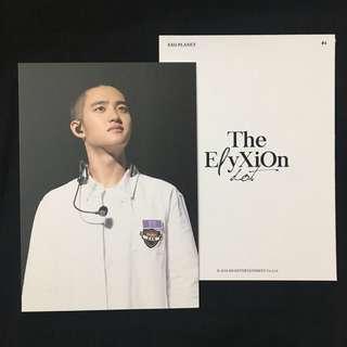 { WTS   WTT } EXO ELYXION DOT OFFICIAL POSTCARD   D.O