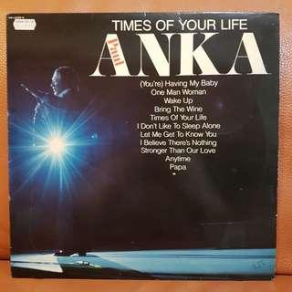 Paul Anka - Times Of Your Life Vinyl Record