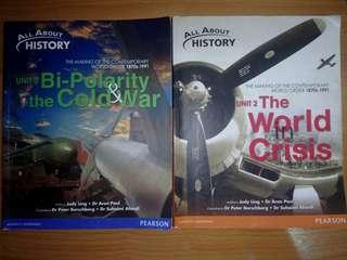O Level History Textbooks: All About History Unit 2 and 3