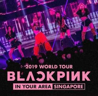 [BLACKPINK IN YOUR AREA] TOUR IN SINGAPORE CAT 2 TICKETS