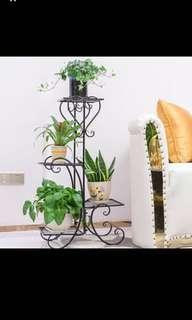 BNIB Flower Racks for outdoor/ balcony CNY New year in tiers black color