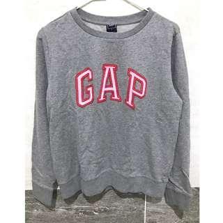 🚚 Gap 灰色亮片大學T 34