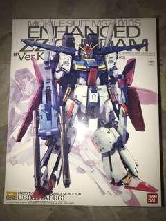 P-Bandai MG1/100 Enhanced ZZ Gundam Ver ka