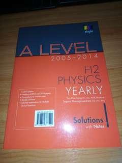 H2 Physics A Level TYS
