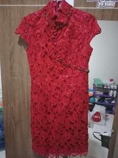 Cheongsam dress super high quality