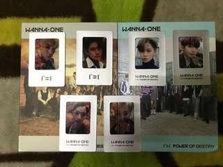 WTT Wanna One Power Of Destiny Film card