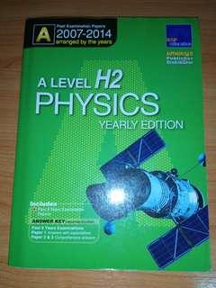 A Level Physics H2 TYS