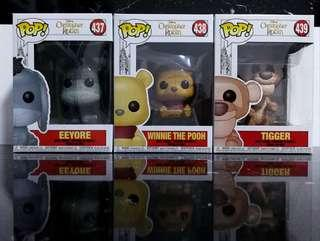 Funko Pops - Christopher Robin (Set of 3)