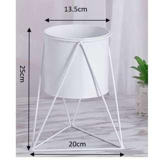 simple triangular flowerpot container home storefront flower Pot tabletop flowerpot office flower pot